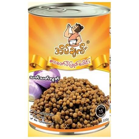 Eain Chat - Boiled Peas (အိမ်ချက် အသင့်စား စားတော်ပဲပြုတ်ပေါင်း)