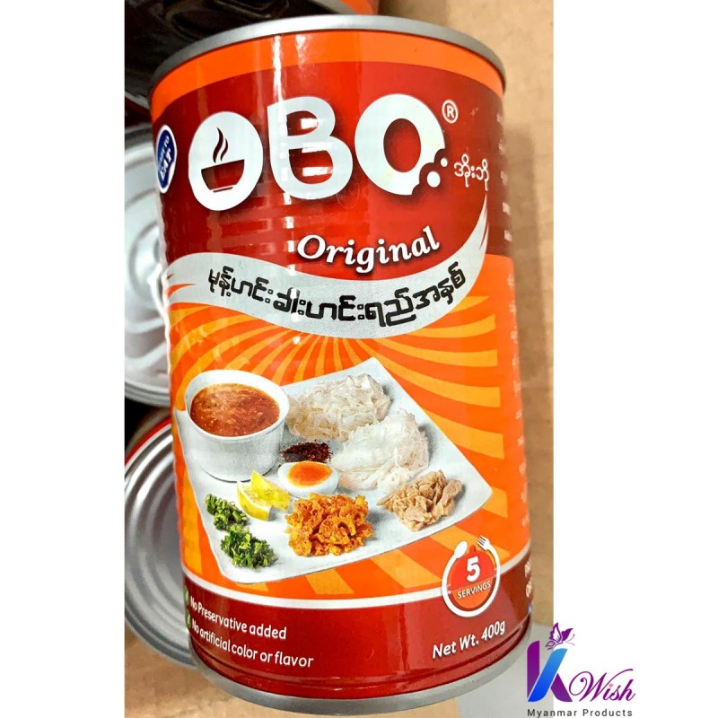 OBO - Myanmar Traditional Fish Paste (မုန့်ဟင်းခါး ဟင်းရည်ဗူး)