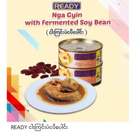 READY Nga Gyin with soy Bean (အသင့်စား ငါးကြင်းပဲငါးပိပေါင်း)