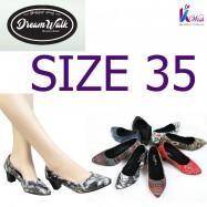 Dreamwalk Lady Shoes - Size 35 သားရေ လေဒီရှူး