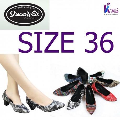 Dreamwalk Lady Shoes - Size 36 သားရေ လေဒီရှူး