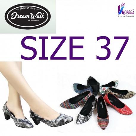 Dreamwalk Lady Shoes - Size 37 သားရေ လေဒီရှူး