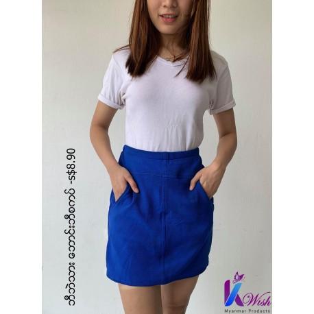 Skirt Pants (ဘောင်းဘီ စကဒ်) - Free Size