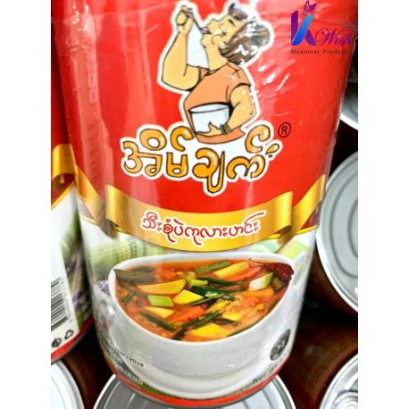 Eain Chat -Chickpea Veg Soup / အိမ်ချက်သီးစုံ ပဲကုလားဟင်း